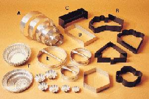 Baking forms and cutters