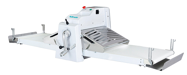 Rollmatic R55B Pastry Sheeter - Manual Bench Mounted