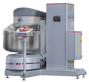 Lynx Spiral Mixer with self emptying bowl